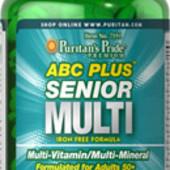 Комплекс витаминов и минералов для тех, кому 50 и старше. Очень богатый состав.