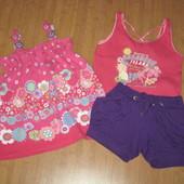 Одежда на девочку 3-6 лет лето