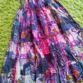 Красивая длинная юбка, 100  хлопок. Индия.