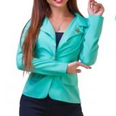 Новинки!!! Размеры 42-54  Яркие недорогие пиджаки разные расцветки