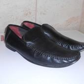 Туфли мокасины натуральная кожа р. 42 - 43 (стелька 28см)