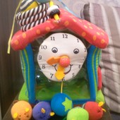 Продам супер игрушка развивающие часы-домик с мышками Ks Kids, развивающий куб, центр-часы BabyBaby
