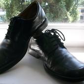 Туфли мужские натуральная кожа Clarks р.43,5