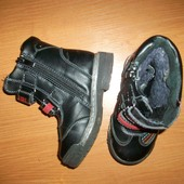 Ботинки сапоги 16,2 см. стелька , 24 размер зима