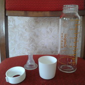 Бутылочка для кормления Canpol babies стеклянная 240 ml.
