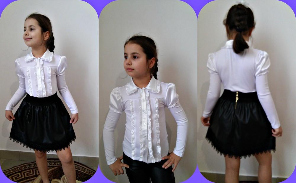 модные блузки подростковые