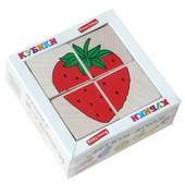 Кубики «Сложи рисунок: Фрукты-ягоды», Komarovtoys Артикул: Т 606