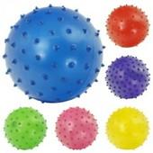 Мяч ёжик резиновый 466-505 A