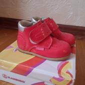 Цена августа! Кожанные ботиночки р.21ТМ Flamingo