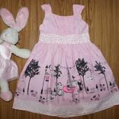 красивенное платье 12-18 до 2,5г