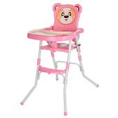 Мишка 113 стульчик для кормления 2 в 1 детский стул