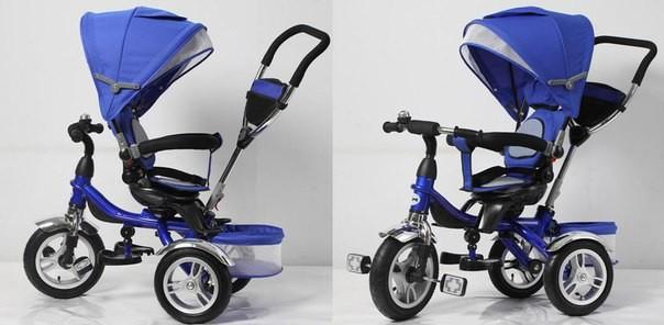 Трехколесный велосипед супер трайк. super trike надувные колеса поворотное сиденье фото №1