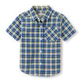 Рубашка с коротким рукавом для мальчика childrensplace