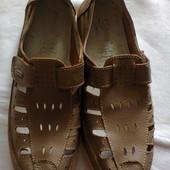 Летние туфли из  натуральной кожи Suderelle.