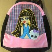 """Рюкзак для девочки """"Монстрик"""", 2 вида, м/с """"Монстры Хай""""!"""