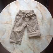 Штаны-шорты на мальчика фирмы George на возраст 9-12 мес