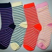 носки женские за 4 пары 36-41 размер