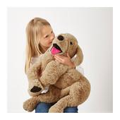 Іграшка м'яка собачка (Ікеа) / игрушка мягкая собака (икеа, икея, ikea