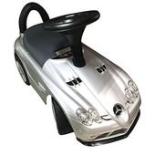 New! Машинка-каталка Bambi M 3189S-2 Mercedes-benz серебристый (eva колеса)