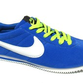 Яркие Мужские Кроссовки Nike из Замши (N-166)