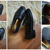 Кожаные мокасины-туфли,р-р 42