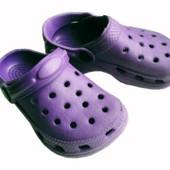 Последняя пара!!! Кроксы для мальчика и девочки, стелька - 13,5 см - 22 размер