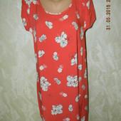 Платье летнее вискозное большого размера