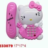 Телефон Hello Kitty муз