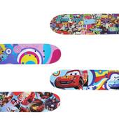 Скейтборд/скейт детский мини Smart: 4 вида,  60х15 см