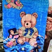 Одеяло детское велюровое