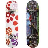 Скейтборд Jump из Китайского клёна Скейт 6 видов графики