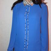 классная шифоновая блузка KIRA Plastinina размер хс