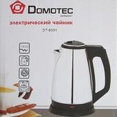 Электрический чайник Domotec DT8001, 1500Вт