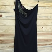 платье - туника на одно плечо бренд р.М  - распродажа!