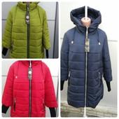 Новинка!Зимние женские курточки с 50 по 62 размер!
