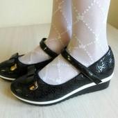 школьные туфли для девочки кожанная ортопедическая стелька