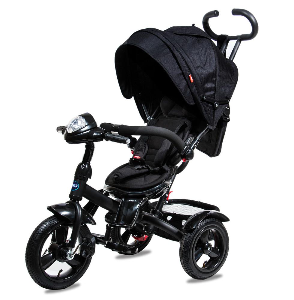 Нео фара надувные колеса neo 4 air трехколесный велосипед коляска. фото №3