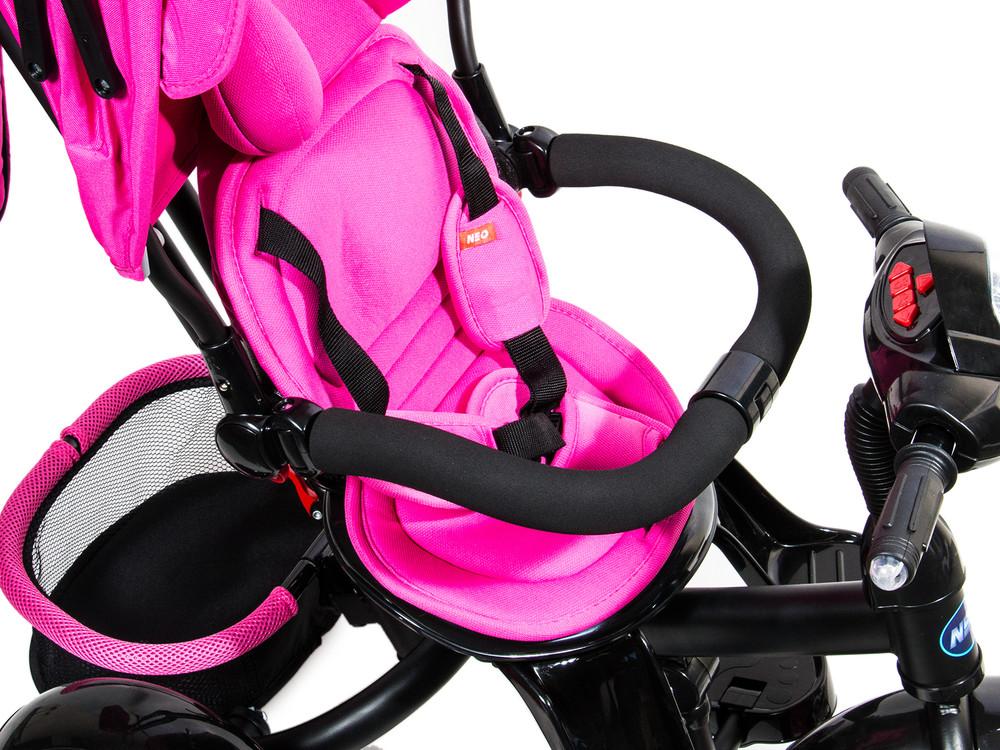 Нео фара надувные колеса neo 4 air трехколесный велосипед коляска. фото №4