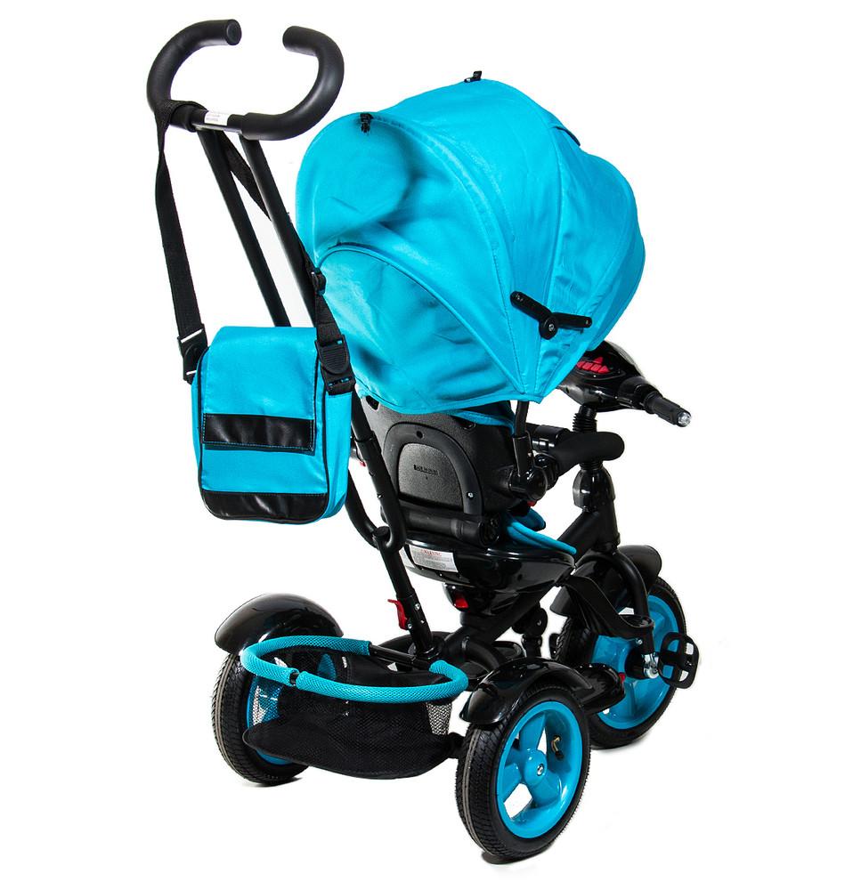 Нео фара надувные колеса neo 4 air трехколесный велосипед коляска. фото №7