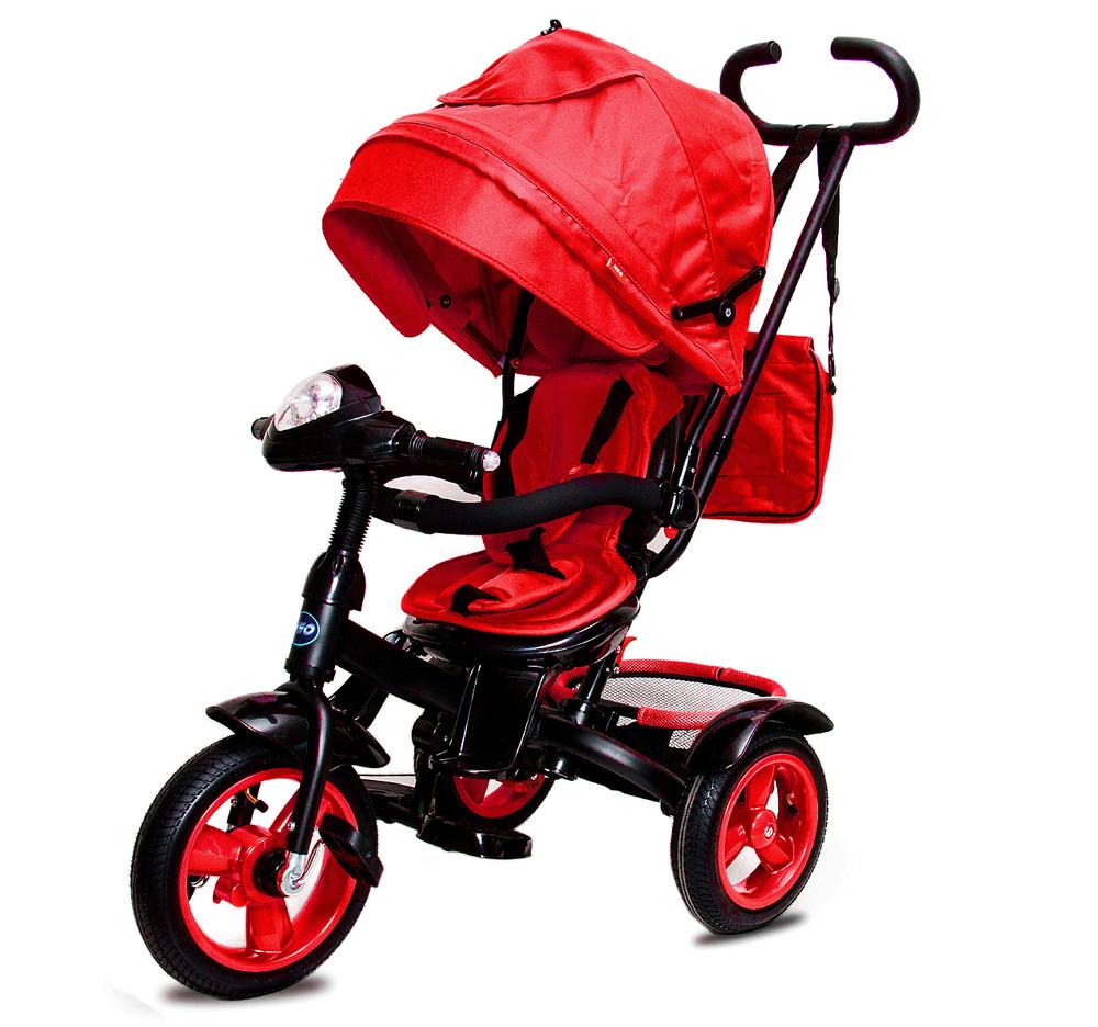 Нео фара надувные колеса neo 4 air трехколесный велосипед коляска. фото №8