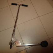 Детский самокат, раскладной , алюминиевый, колеса силиконовые, мягкий в ходу, диаметр колеса 10 см В