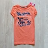 Новая яркая футболка для девочки. Y.D. Размер 9-10 лет