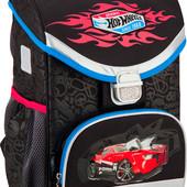 Рюкзак школьный каркасный Kite Hot Wheels hw16-529S