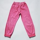 4-6 лет. Спортивные велюровые штаны