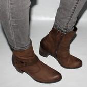 Ботинки 41 р, Gabor, Германия, кожа, демисезон, оригинал.