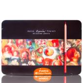 Карандаши цветные акварельные 48цв. Marco FineArt металл коробка 48TN