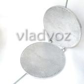 Алюминиевая форма для выпечки трубочек вафельница круглая
