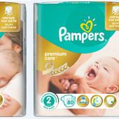 Безкоштовна доставка подгузники від 1 по м.Київ  упаковки Pampers Premium Care