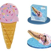 Надувной плотик матрац Мороженое Intex 58757
