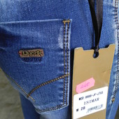 Модные стрейчевые жен.джинсы 28-32р